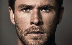 Wallpaper Chris Hemsworth eyes photos 1080p