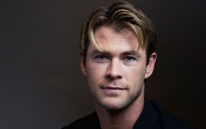 wallpaper Chris Hemsworth eyes cute face High Definition pictures