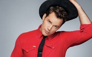Chris Pratt red T-shirt HQ pictures