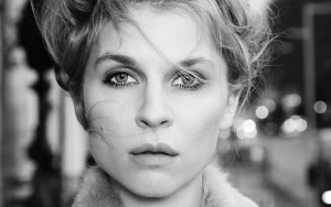 Clemence Poesy black and white free pic