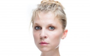 Clemence Poesy white background