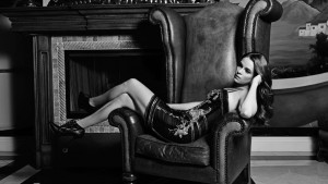 Awesome Danielle Panabaker bw pictures