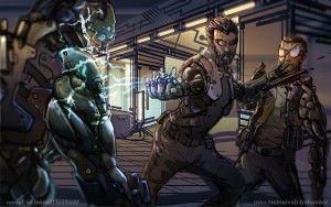 Awesome Deus Ex Mankind Divided art pictures