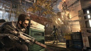 Wallpaper of Deus Ex Mankind Divided graphics for Laptop