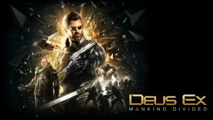 Best Deus Ex Mankind Divided logo wallpapers backgrounds