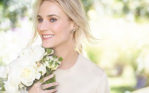 smiling Diane Kruger wallpaper image