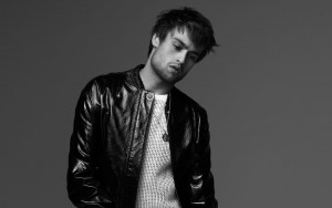 Douglas Booth bw HD wallpapers for Desktop