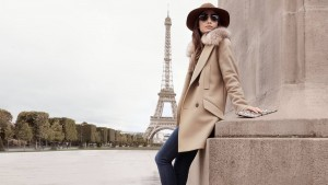 4k Eiffel tower Lily Aldridge style wallpaper download