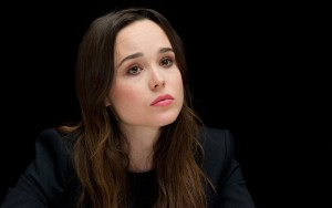 Ellen Page black background HD wallpapers for Desktop