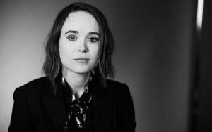 Ellen Page bw HD images Download