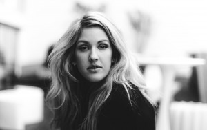 Walpapers of Ellie Goulding black-white for windows