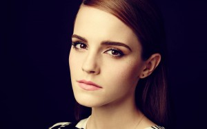 Emma Watson black new 2016 wallpaper
