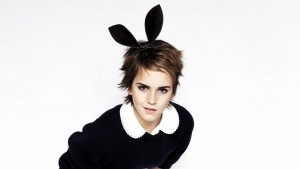 Emma Watson ears white wallpapers