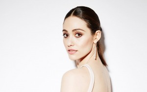 wallpaper Emmy Rossum white background