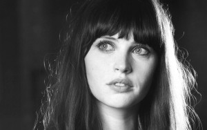 Felicity Jones bw full HD image