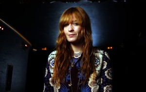 Florence Welch black background High Resolution