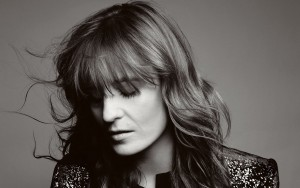 Florence Welch wallpaper black-white picture 2016