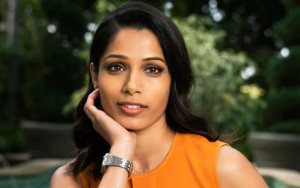 Freida Pinto cute Desktop Wallpaper Widescreen