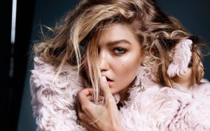 Gigi Hadid face 1920x1080 wallpaper