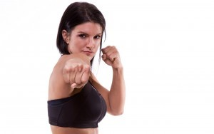 HD Gina Carano punch images