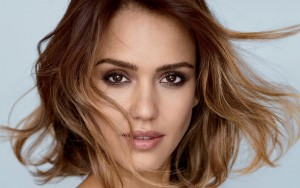 Jessica Alba hair eyes High Definition wallpaper