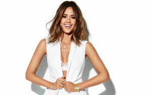 Jessica Alba white background wallpapers HD