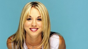Kaley Cuoco happy HD pics
