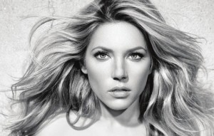 Katheryn Winnick black and white High Quality Wallpapers