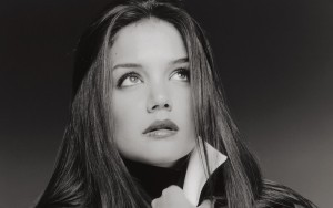 Awesome Katie Holmes bw picture