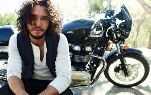 Kit Harington bike picture High Resolution