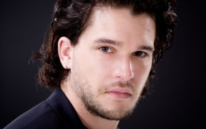 Kit Harington black background new wallpaper
