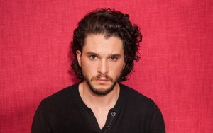 Kit Harington red background HD wallpapers