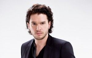 Kit Harington serious screensaver