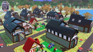 LEGO Worlds houses 1920x1080 wallpaper