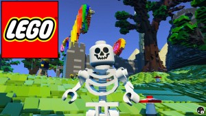 Walpapers of LEGO Worlds skeleton for windows