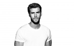 Liam Hemsworth bw picture High Resolution