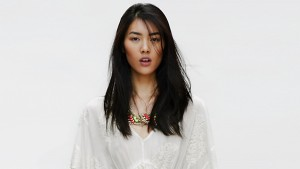 Liu Wen white background widescreen