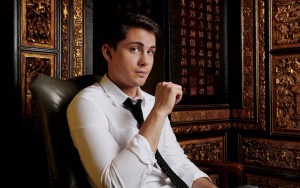 Logan Lerman 1080p wallpaper