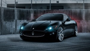 Maserati Granturismo black wallpaper 1080p High Definition