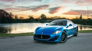 Maserati Granturismo blue HD wallpapers