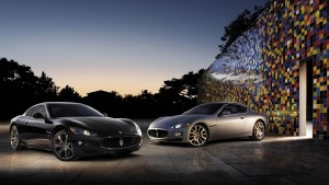 Maserati Granturismo cool night HD pics