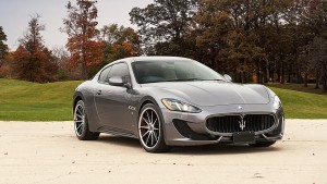 Maserati Granturismo grey new 2016 wallpaper