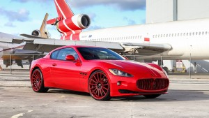Maserati Granturismo red HD images
