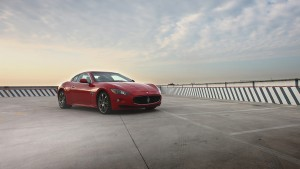 Maserati Granturismo sky clouds Desktop wallpapers