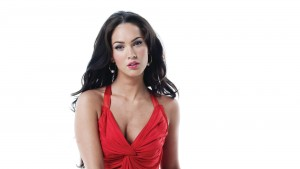 Megan Fox new 2016 wallpaper red dress