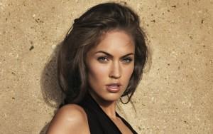 Megan Fox amazing High Definition wallpaper face
