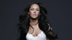 amazing Megan Fox dark background themes for PC