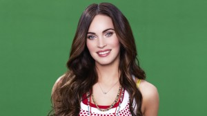 wallpaper of Megan Fox green background pictures