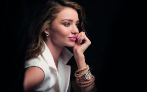 Miranda Kerr black HD wallpapers