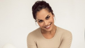 HD Monica Raymund smile images, pictures
